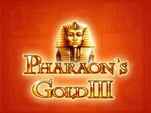 Игровой автомат Pharaohs Gold III играть