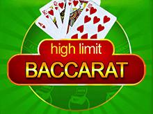 Играть в азартную игру High Limit Baccarat