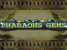 Игровой автомат Pharaohs Gems играть