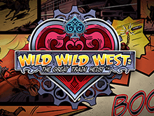Игровой автомат Wild Wild West: The Great Train Heist играть