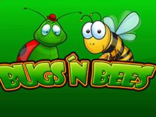 Играть в азартную игру Bugs And Bees
