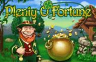 Игровой автомат Plenty O'Fortune играть